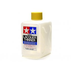 Tamiya Diluant cellulosique Lacquer Thinner XL 250ml - TAMIYA 87077