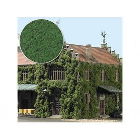 Busch 7342 - flocage mousse vert moyen toutes échelles
