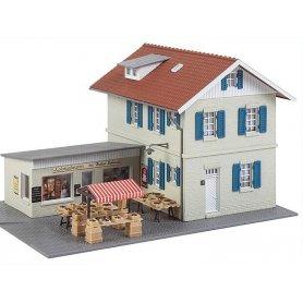 Maison avec épicerie attenante - HO - Faller 131375