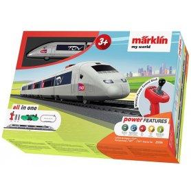Coffret d'initiation enfant TGV - HO - Märklin My World 29306