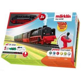 Coffret d'initiation enfant Train vapeur - HO - Märklin My World 29308