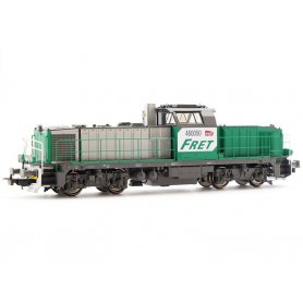 Locomotive Diesel BB60000 FRET SNCF analogique - HO - PIKO 96470