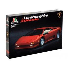 Italeri 3685 - Lamborghini Diablo - échelle 1/24