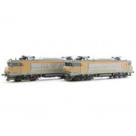 Coffret BB 7414 + BB 7346 ép IV - digital son DCC - HO - LS Models 10450S