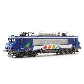BB 7604 livrée Transilien époque VI - DCC digital sonore - HO - LS Models 10451S