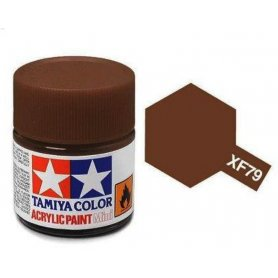 Tamiya XF-79 - brun linoleum - pot acrylique 10 ml