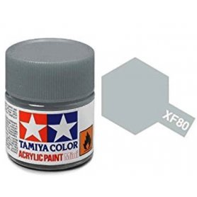 Tamiya XF-80 - gris royal clair - pot acrylique 10 ml