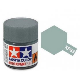 Tamiya XF-83 - medium sea gray 2 - pot acrylique 10 ml