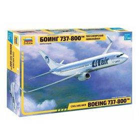 Avion civil BOEING 737-800 - 1/144 - ZVEZDA 7019