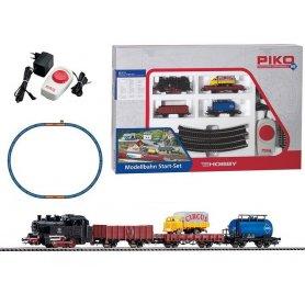 Coffret set de départ train de marchandises CIRCUS analogique - PIKO 97909