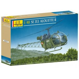 Alouette II SE 313 - 1/72 - HELLER 80479