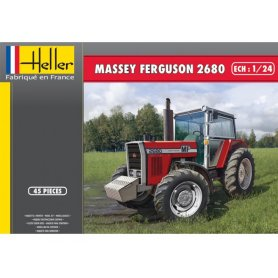 Massey Ferguson 2680 - échelle 1/24 - HELLER 81402