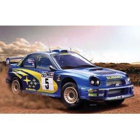 Subaru Impreza WRC '01 - échelle 1/24 - HELLER 80761