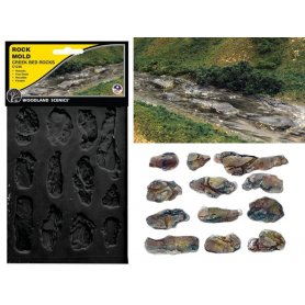 Woodland Scenics C1246 - moule de lit de ruisseau
