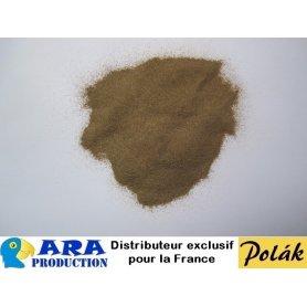 Sable à décor fin couleur brun jaune 200 g - Polak 5350