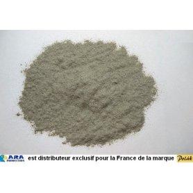 Sable à décor fin couleur gris béton 200 g - Polak 5370