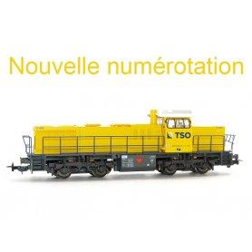 Locomotive diesel G1206 TSO époque VI - HO - PIKO 97764-2