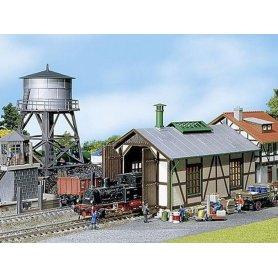 Coffret promo bâtiments ferroviaires - HO - Faller 190172