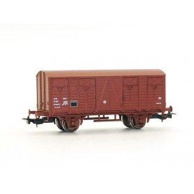 Wagon couvert à essieux SNCF époque IV HO - PIKO 97081