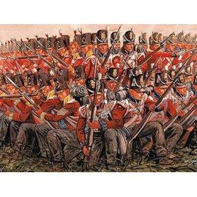 ITALERI 6095 - 1/72 - infanterie britanique - guerre napoléonienne
