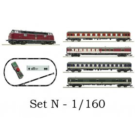Coffret digital z21 + train voyageurs DB - N 1:160 - FLEISCHMANN 931881