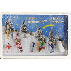 Scène de Noël - HO 1/87 - PREISER 10626