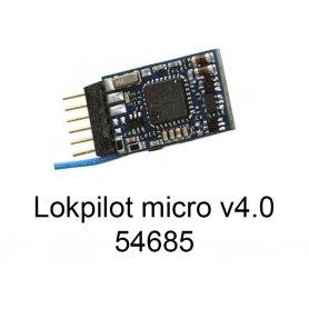 ESU 54685 - Lokpilot micro V4.0 NEM 651 6 pôles