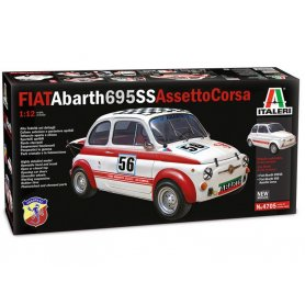 Italeri 4705 - FIAT Abarth 695SS Assetto Corsa - échelle 1/12