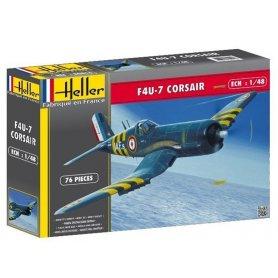 F4U-7 Corsair - échelle 1/72 - HELLER 80415