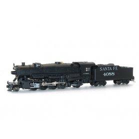 Vapeur Mikado 2-8-2 Santa Fe 4088 - KATO 126-0102