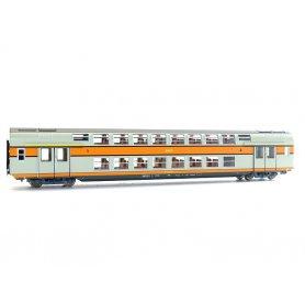 VB2N 1ère/2ème CL avec éclairage SNCF encadré HO - VITRAINS 3159L