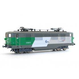 Locomotive électrique BB 16600 TER SNCF analogique  HO - VITRAINS 2224