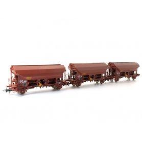Coffret 3 wagons trémie TDS Ep IV SNCF - HO - ROCO 76178
