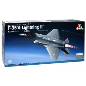 Lockheed F-35A Lightning II CTOL version - échelle 1/32 - ITALERI 2506