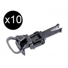 10x attelages boucle Relex NEM - HO - Märklin 72060