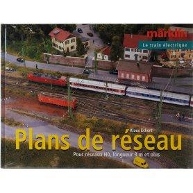 Plans de réseau HO 3 mètres et plus (français) - 154 pages - MARKLIN 07453