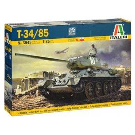 Char T-34/85 à l'échelle 1/35 - WWII - Italeri 6545