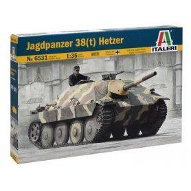 Jagdpanzer 38(t) Hetzer au 1/35 - WWII - Italeri 6531