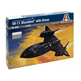 SR-71 Blackbird - échelle 1/72 - ITALERI 145