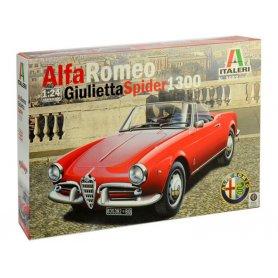 Italeri 3653 - Alpha Romeo Giulietta Spider 1600 - échelle 1/24