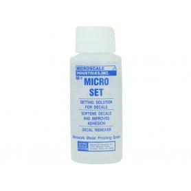 Microscale Micro SET 30 ml - Solution pour décalcomanies