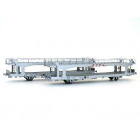 2x wagons porte autos TA 60 Less STVA longs SNCF Ep IV-V - HO - LS Models 30701