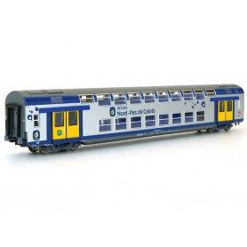 VO2N 2ème classe Nord Pas de Calais Carmillon SNCF HO - VITRAINS 3166