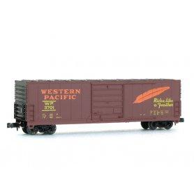 Wagon EVANS 50' Western Pacific échelle N - BEV-BEL 10003