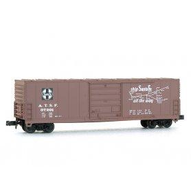 Wagon EVANS 50' Santa Fe échelle N - BEV-BEL 10004