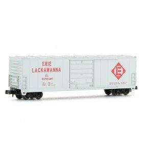 Wagon EVANS 50' ERIE LACKAWANNA échelle N - BEV-BEL 10008