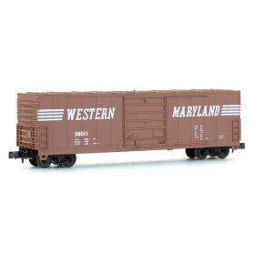 Wagon EVANS 50' WESTERN MARYLAND échelle N - BEV-BEL 10014