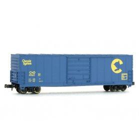 Wagon EVANS 50' Chessie & Ohio échelle N - BEV-BEL 10006