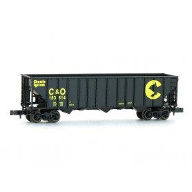 Wagon Chessie And Ohio US échelle N - LIFE-LIKE 7368