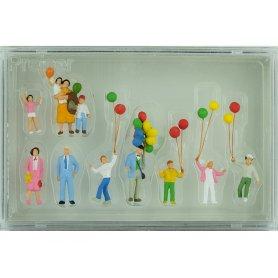 PREISER 24659 - Vente de ballons - HO 1/87
